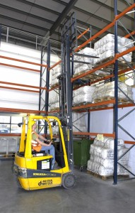 M50 Web Store - Double Height Racked Warehouse