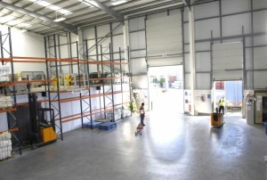 Our Warehousing Facility with Loading Bays M5o Webstore