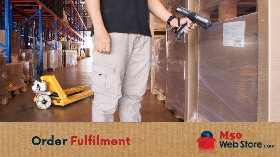 Order Fulfilment M50 Web Store