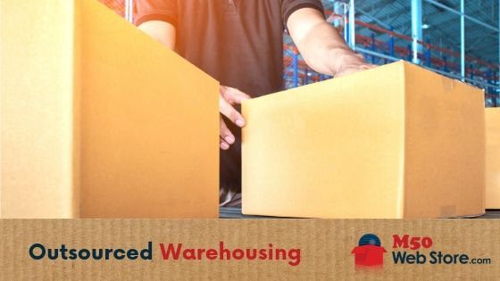 Outsourced warehousing M50 Web Store