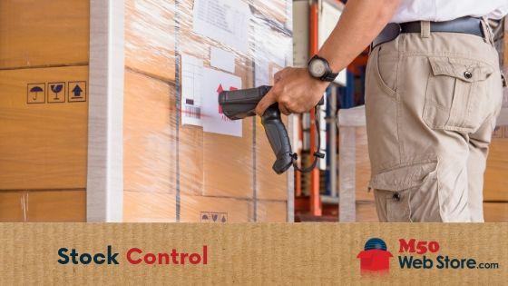 Stock control M50 Web Store