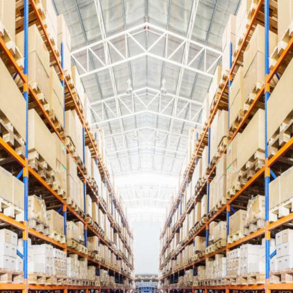 Warehouse interior M50 Web Store
